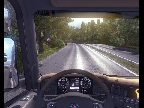 Euro Truck Simulator 2 - Amsterdam To Salzburg In DAF XF SPACE part 1