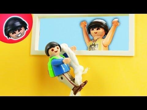 Kuno läuft weg! Playmobil Polizei Film - KARLCHEN KNACK #235