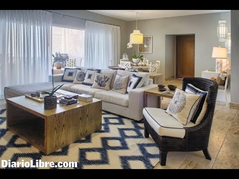 Decoracion de salas tendencia 2016 youtube for Decoracion salones 2016