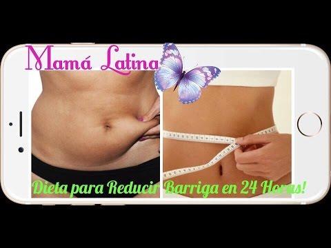 Dieta quema grasa abdominal en 24 horas