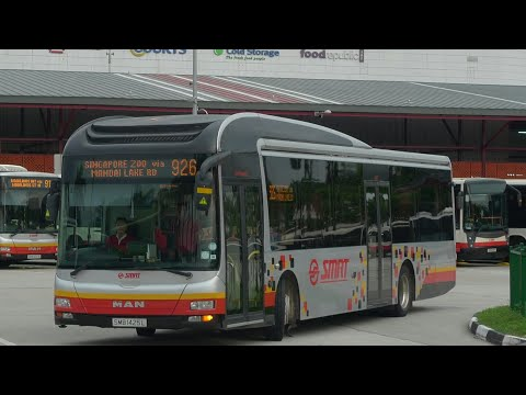 SMRT Bus Service 926, SMB1619U (Full Trip)