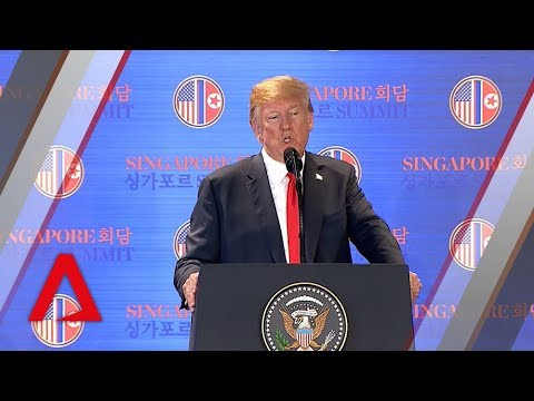 Trump-Kim summit: US to end war games with South Korea, says Trump Mp3