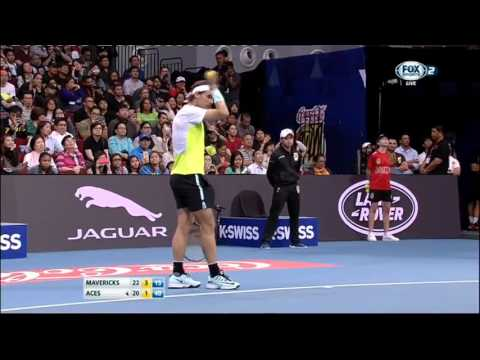 Federer vs Berdych | Finale Masters 1000 Madrid | Full Ace Tennis Simulator 2012 from YouTube · Duration:  19 minutes 12 seconds