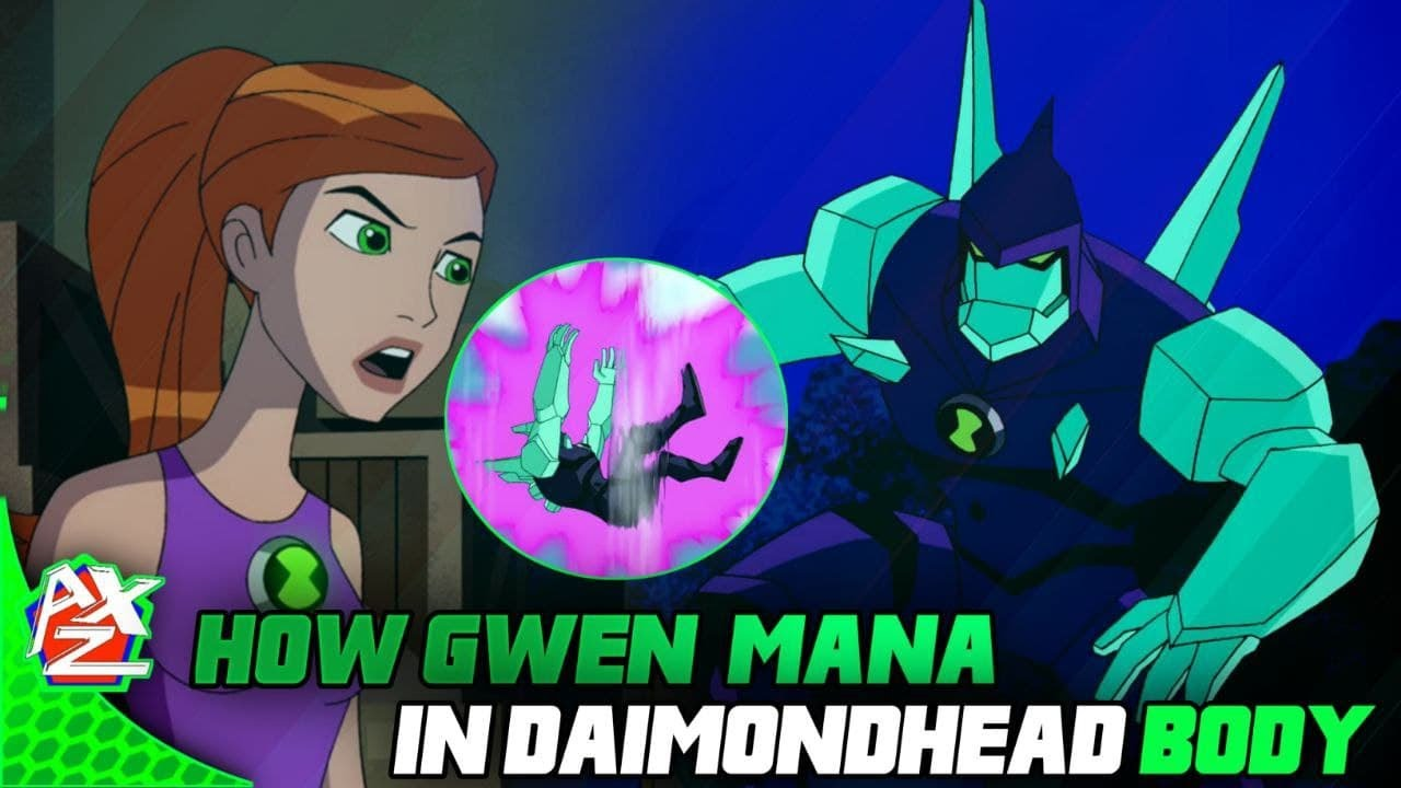 How Gwen Use Mana Power In Daimondhead Body   Can Ben Get Kevin Gwen Power In Inspector 13 Episode  