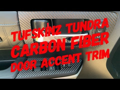 TUFSKINZ Tundra Door Accent Trim Install