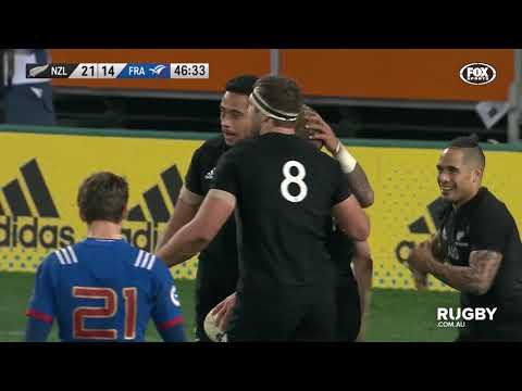 June Internationals: New Zealand vs France, Dunedin