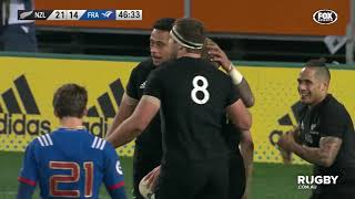 June Internationals: New Zealand vs France, Dunedin
