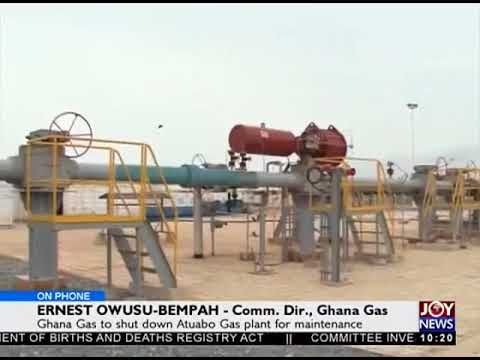 Ghana Gas To Shut Down Atubo Gas Plant - News Desk on JoyNews (31-1-18)