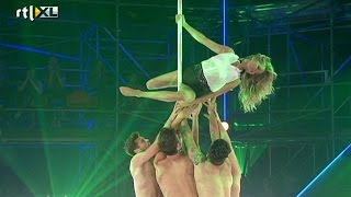 Vrije act Sita - Show 4 - CELEBRITY POLE DANCING