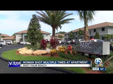 Woman shot multiple times at West Palm Beach apartment