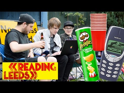 LEEDS AND READING - FESTIVAL ESSENTIALS 2016