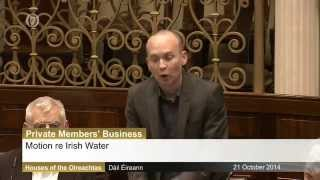 Paul Murphy TD tears up Irish Water pack in Dail