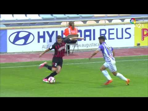 Resumen de Reus vs Real Valladolid (2-0)
