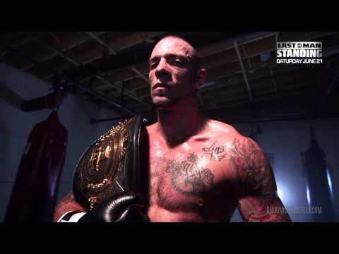 GLORY Last Man Standing - Joe Schilling Pre Fight Interview