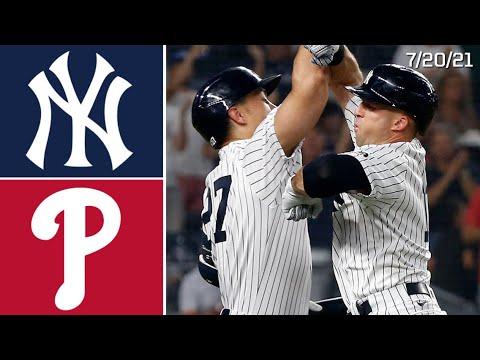 Download New York Yankees Vs. Philadelphia Phillies | Game Highlights | 7/20/21