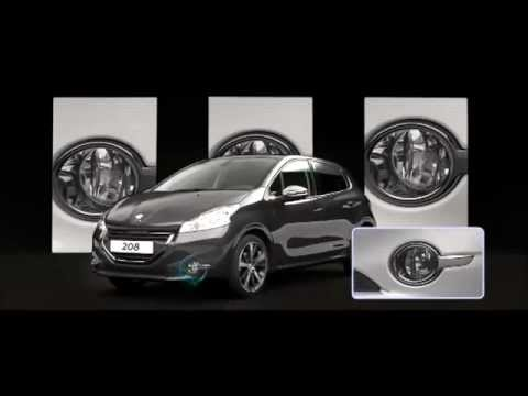 peugeot 208 gli accessori youtube. Black Bedroom Furniture Sets. Home Design Ideas