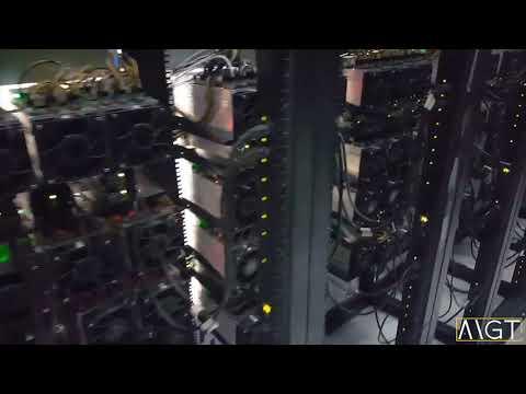 Inside MGT Bitcoin Mining Pod With 389 Bitmain S9s