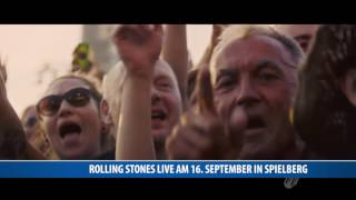 Rolling Stones Live am 16. September in Spielberg