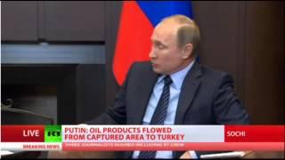 Πούτιν: Πισώπλατη μαχαιριά η κατάρριψη του μαχητικού