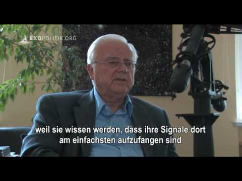 Prof. Frank Drake, Founder of SETI, about Chilbolton message