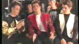 NKOTB - accepting 1990 Billboard for No1 artist