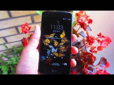 LG K8 smartphone preview