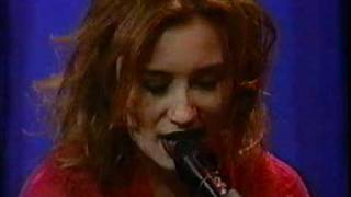 tori amos caught a lite sneeze and interview  leno 1996