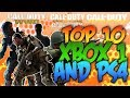 Top 10 Best Selling PS4 / Xbox One Games Of All Time
