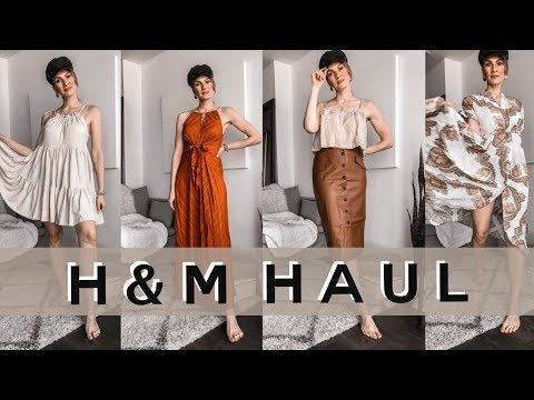 H&M SPRING/SUMMER HAUL + TRYON | STYLING TIPS | MON MODE