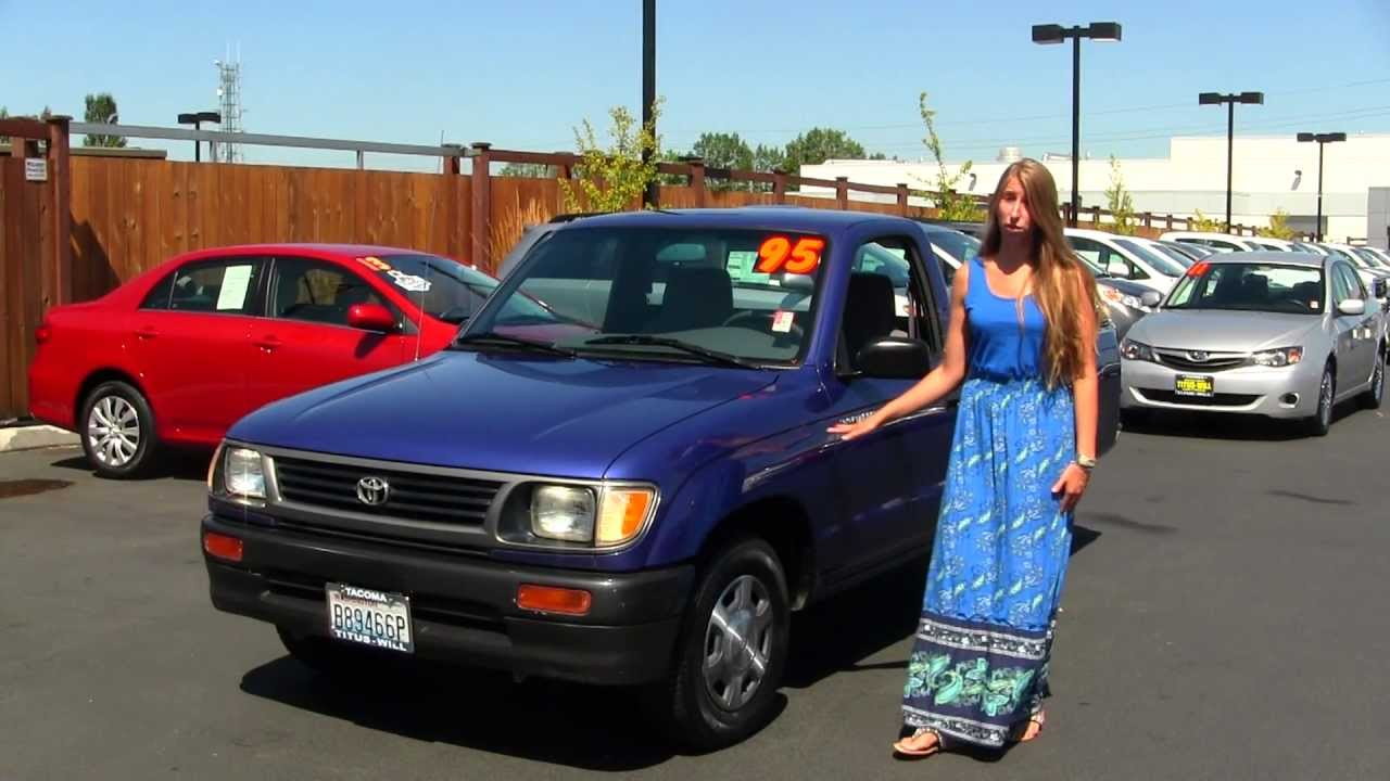 Virtual walk around tour of a 1995 toyota tacoma 2wd at titus will toyota in tacoma t32040a youtube