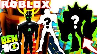 ROBLOX! BEN 10-NEW ALIEN OMNITRIX UPDATE UND DIE BESTE VILLAIN IM BEN 10 ARRIVAL OF ALIENS
