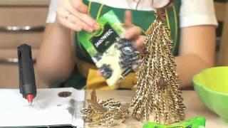 Pomysły Kamis - Świąteczne dekoracje stołu - choinka oraz stroik