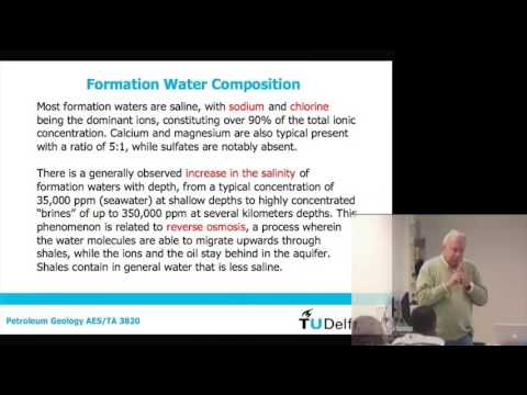 Petroleum Geology: Migration from source rock to reservoir