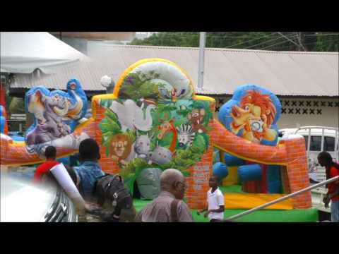 Caribbean Baptist Youth Festival at Hatters Pan Theatre 21,07, 2017