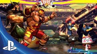 Street Fighter X Tekken for PS Vita: Launch Trailer