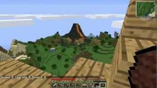 [RPW] Minecraft:Technic 3# เครื่องบิน!!!(airship)/ตามหา Rubber
