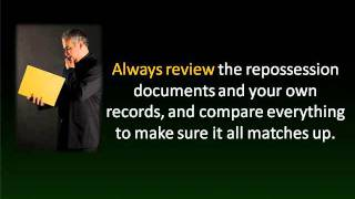 Remove Repossession From Credit Report