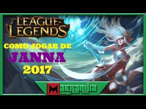 🔴 Como jogar de JANNA em 13 minutos - League of Legends - Fala do champ S7
