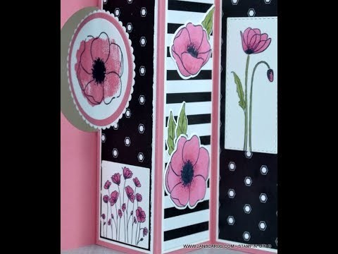 No.520 - Pop-Out Window Card - JanB UK Stampin' Up! Independent Deonstrator