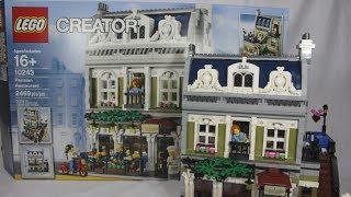 Lego: 10243 Parisian Restaurant 2014 Review