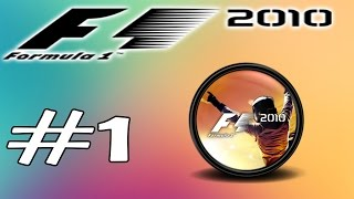 F1 2010 | MODO CARREIRA  #1