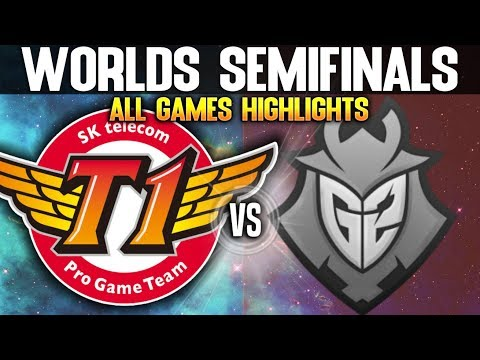 SKT vs G2 Highlights ALL GAMES Worlds 2019 SEMIFINALS - SKT T1 vs G2 Esports Highlights ALL GAMES