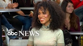 Kerry Washington dishes on the