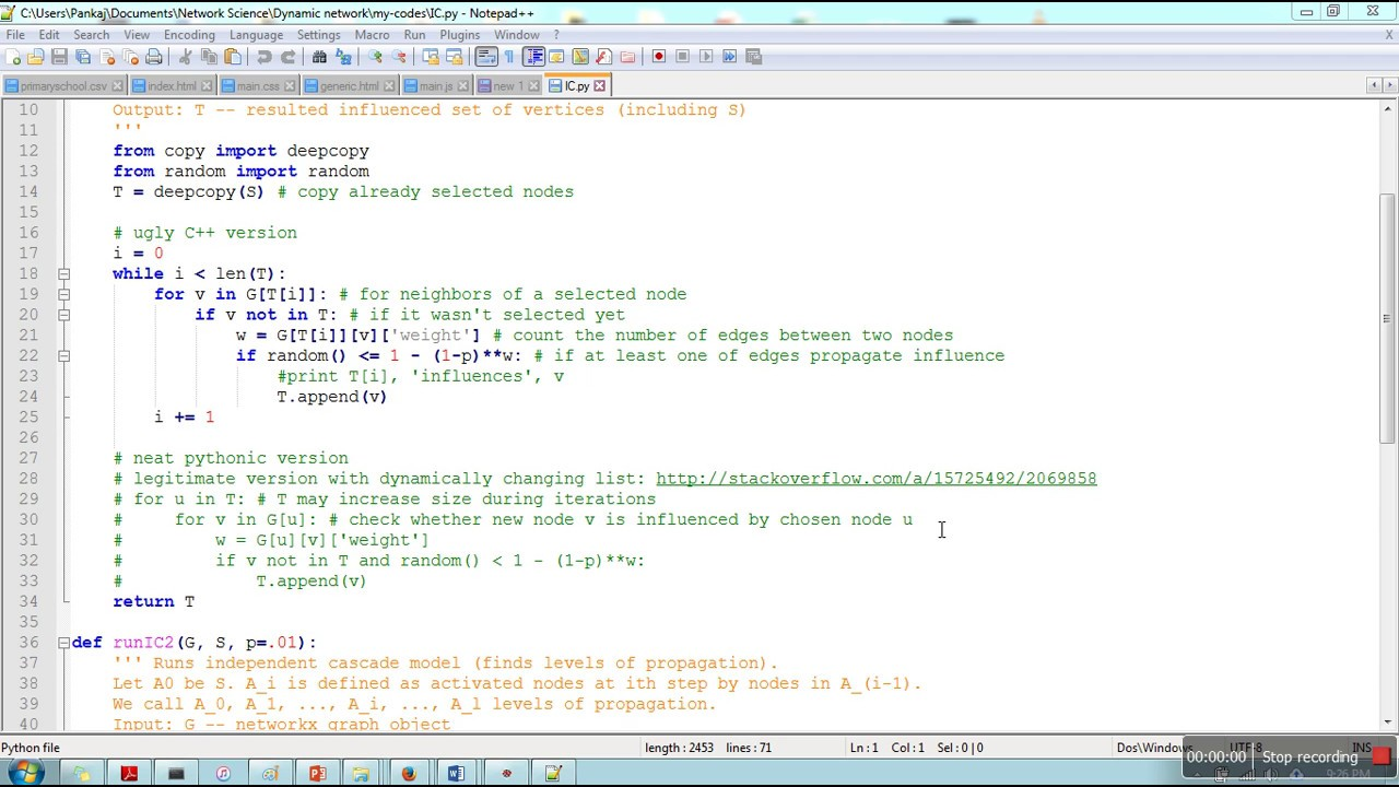 How to convert any source code file in HTML file with proper formatting  using notepad++