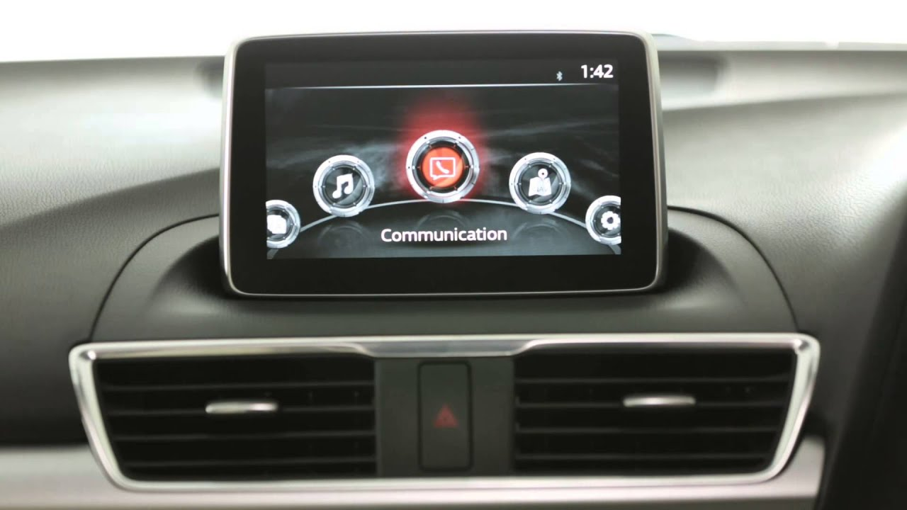 Mazda Cx 9 >> How To use MZD Connect - Mazda's Infotainment System - YouTube