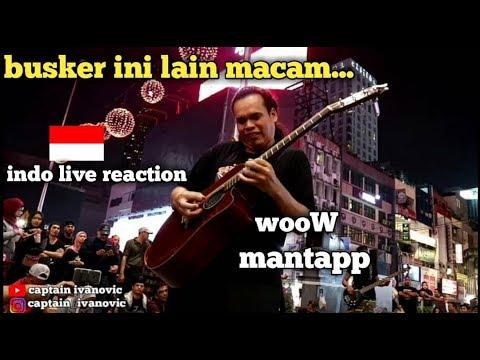 Orang indonesia terkejut dengan kualitas busker malaysia ini banyak nyanyikan lagu indonesia