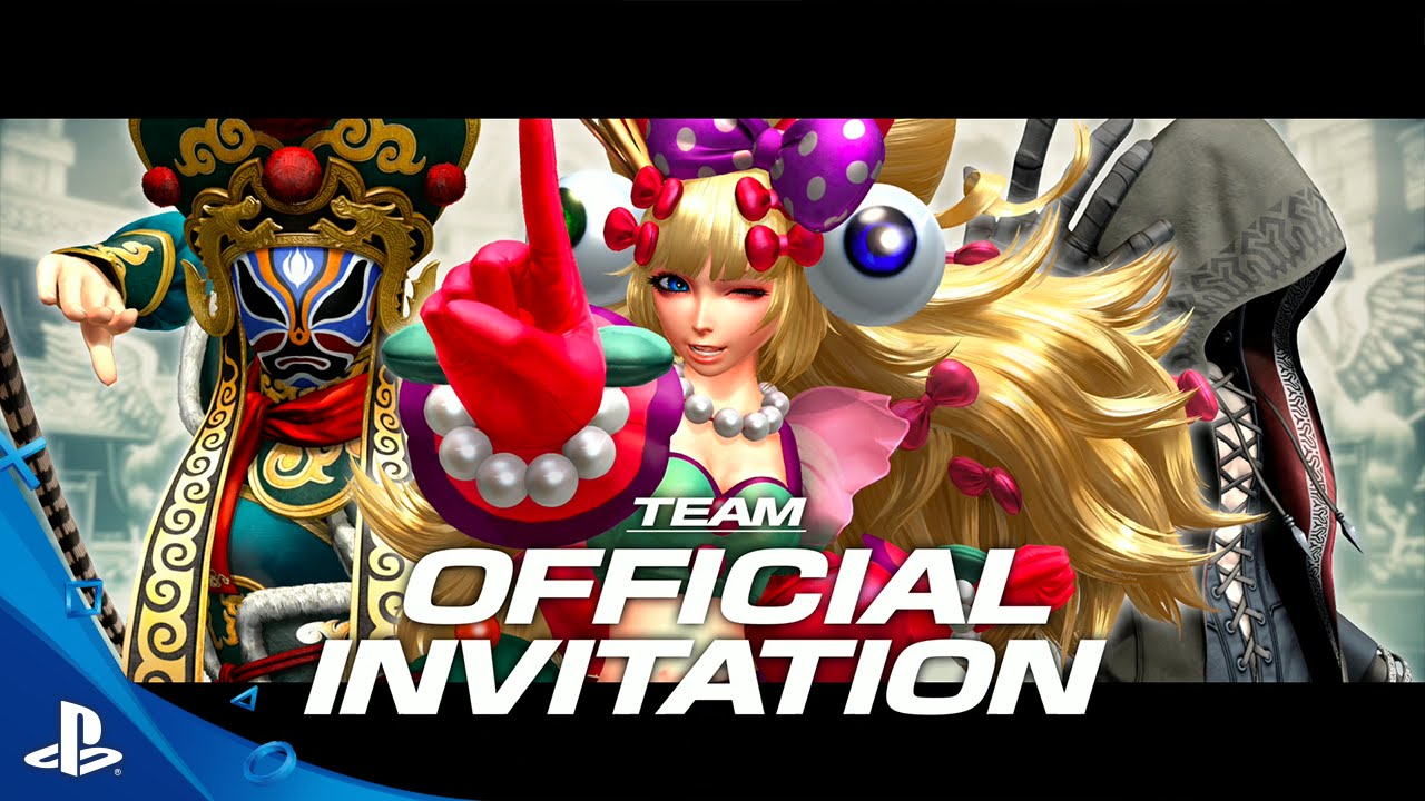 The King Of Fighters Xiv Team Official Invitation Trailer Ps4