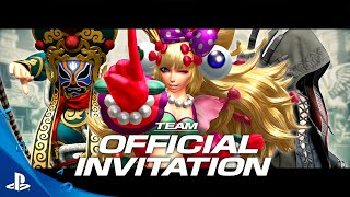 The King of Fighters XIV - Team Official Invitation Trailer | PS4