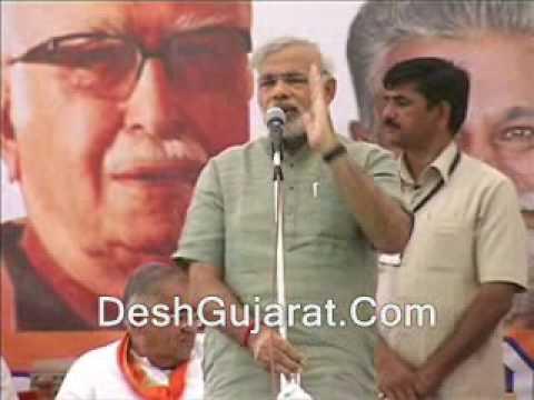 Narendra Modi attacks Manmohan Singh:Dehgam speech