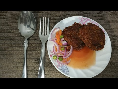 Indian Coffee House Style Beetroot Cutlet  Veg Cutlet  Recipe No:20